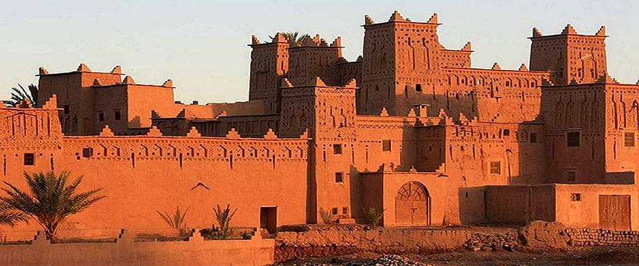 Circuit désert au départ de Ouarzazate tout inclus 4 Jours