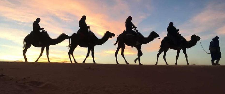 Circuit 7 jours de Casablanca au désert Merzouga