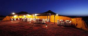 camp lux in Merzouga